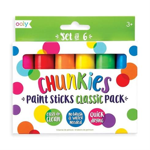 Image of   Farver Chunkies Paint Sticks Classic