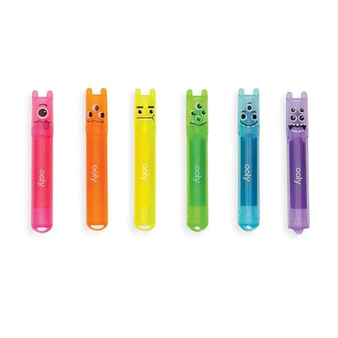 Image of   Mini Monsters Highlighters med duft