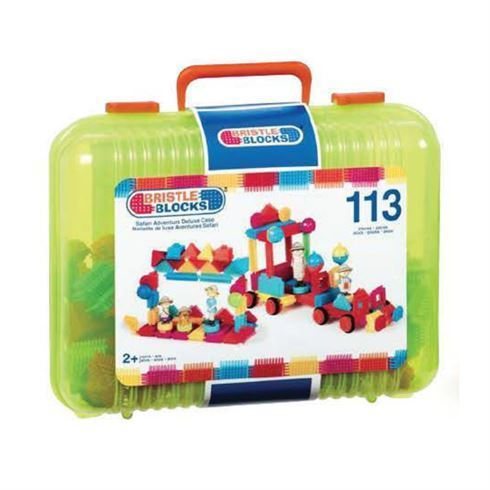 Bristle Blocks samleklodser i kuffert 113 stk. - B Toys