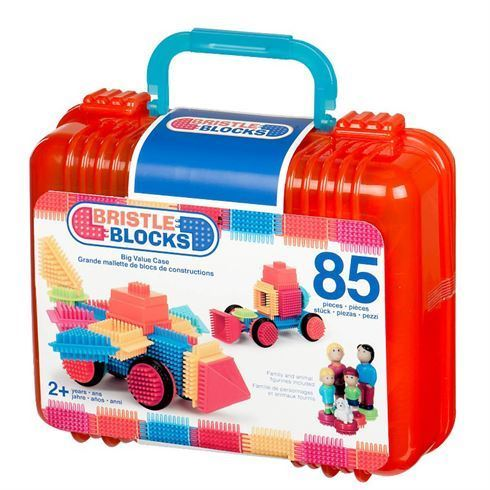 Bristle Blocks samleklodser i kuffert 85 stk. - B Toys