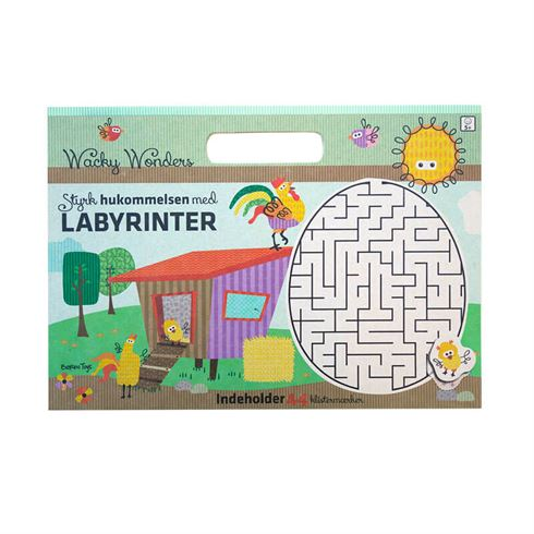 Image of Opgavebog Labyrinter Barbo Toys (Barbo 6377)