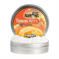 Glow Thinking Putty Amber Crazy Aaron