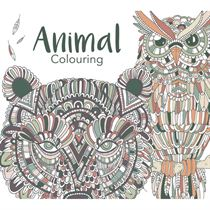 Animal Colouring Malebog - Colours by Cph