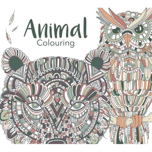 Image of Animal Colouring Malebog - Colours by Cph (CBC 5712938001213)