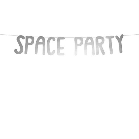 Image of   Fødselsdagsbanner Space Party