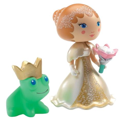Image of   Arty Toys Prinsessefigur Blanca fra Djeco