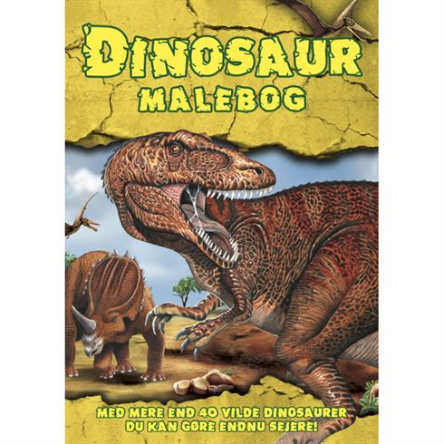 Image of Dinosaur Malebog - Colours by Cph (CBC 9788793271074)