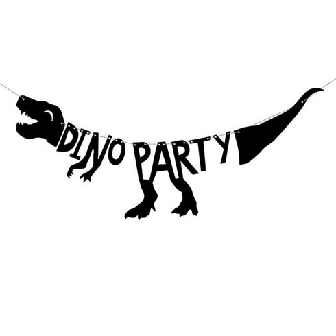 Image of   Fødselsdagsbanner Dinosaur Party