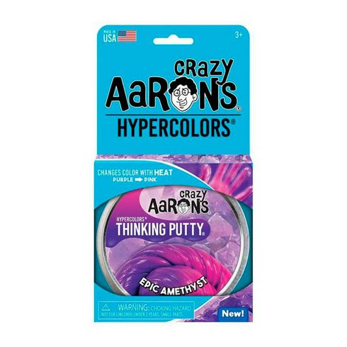 Image of Hypercolor Thinking Putty Epic Amethyst Crazy Aaron (CA EA020)