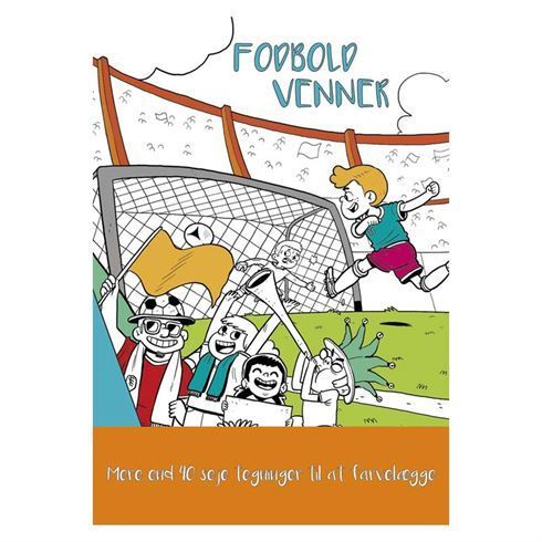 Image of   Malebog Fodbold venner Colours by CPH