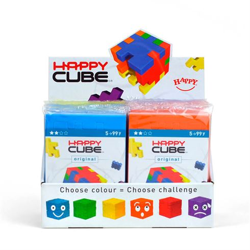 Image of Happy Cube Original Rød Paris (spb 9234567839-rød)