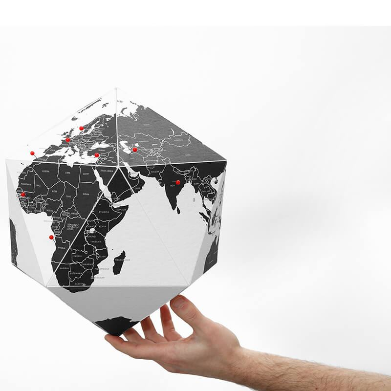 Fremragende Here - The personal Globe Lille Countries CX28