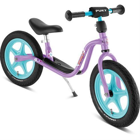 Image of PUKY Løbecykel LR1L Lilla med lufthjul (PUKY 4017)