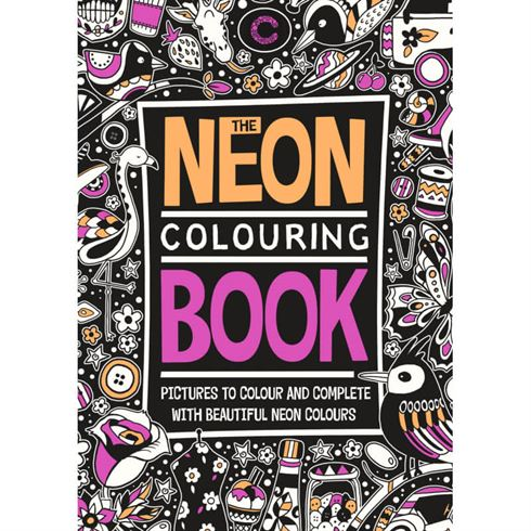 Image of The Neon Colouring Book - Colours by Cph (CBC 9788793271418)