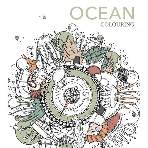 Image of Ocean Colouring Malebog - Colours by Cph (CBC 5712938001206)