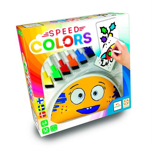 Image of Speed Colors Familiespil Tegnespil (spb 6430018274621)