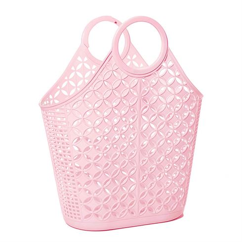 Atomic tote shopper pink