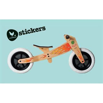 Image of Flamme Stickers til Wishbone Cykel (wishbone sticker flame 3000)