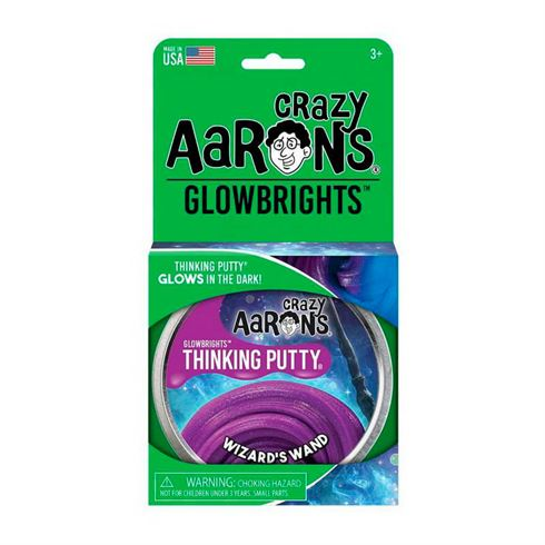 Image of Glow in the dark Thinking Putty Wizard's Wand Crazy Aaron (CA WD020)