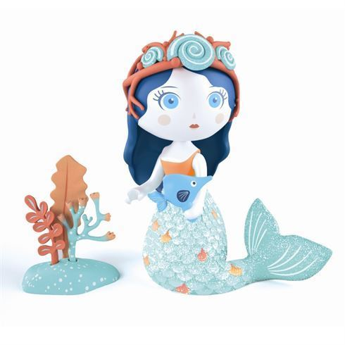 Image of   Arty Toys Prinsessefigur Aby & Blue fra Djeco