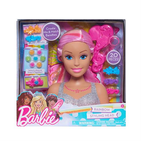 Image of   Barbie Frisørhoved Styling Head Dreamtopia