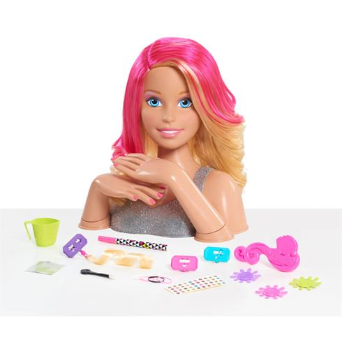 Image of Barbie Frisørhoved Deluxe Styling Head (18-62530)