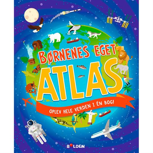 Image of Børnenes eget atlas (9788771069952)