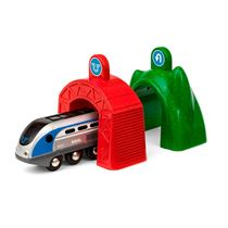 Brio Smart Tech Lokomotiv med action-tuneller 33874