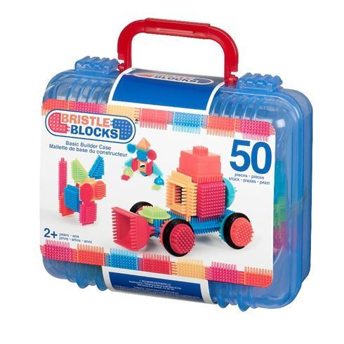 Bristle Blocks i kuffert 50 stk - B Toys