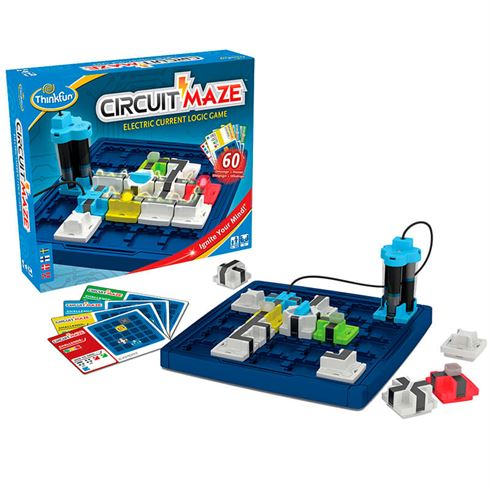 Image of   Circuit Maze - Den elektriske Labyrint fra ThinkFun