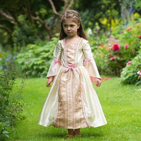 Image of   Prinsesse kostume Damask Dutchess str. 6 - 8 år Travis Designs