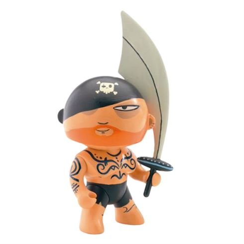 Image of   Arty Toys Piratfigur Tattoo fra Djeco