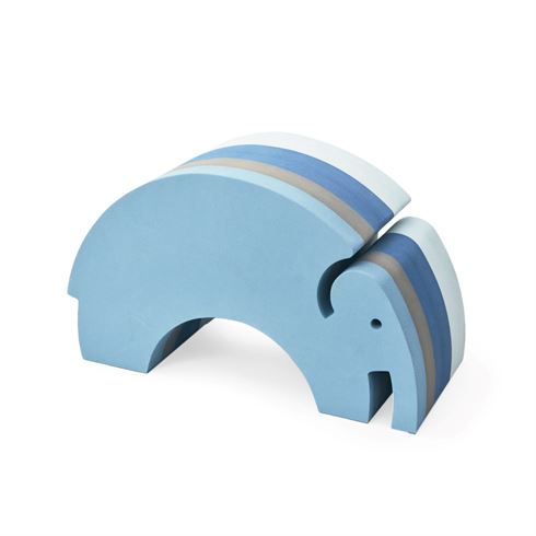 Image of   bObles stor elefant blue