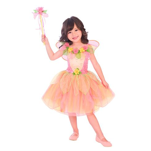Image of   Fe Kostume Peach Sorbet str. 6 - 8 år Travis Designs