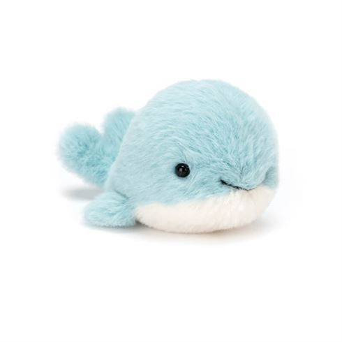 Jellycat Fluffies Hval 10 cm