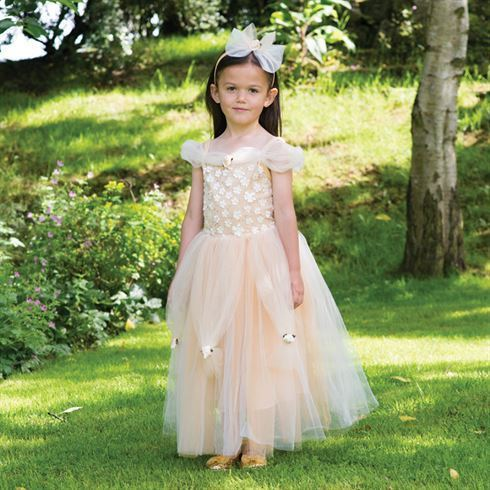 Image of   Prinsesse kostume Golden Princess str. 3 - 11 år Travis Designs