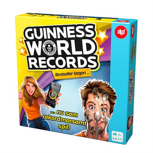 Guinness World Records - brætspil fra Alga