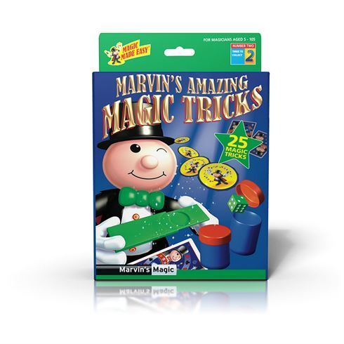 Tryllesæt 25 tricks Box 2 fra Marvins Magic
