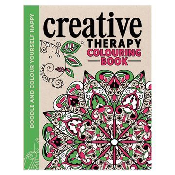 Image of   Malebog Creative Therapy Colouring Softcover