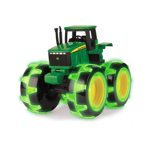 Image of Monster Treads Traktor med lys i hjul fra John Deere (jd 15-46434)