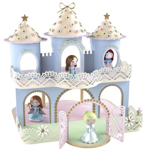Image of   Arty Toys Prinsesseslot Ze Princess Castle fra Djeco