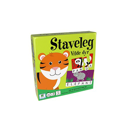 Image of   Staveleg Vilde dyr Barbo Toys